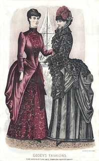 Godey's Lady's Book Winter 1884 Fashion Plate | by clotho98