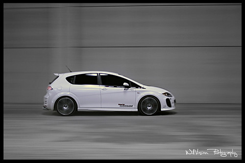 Tuning - Seat Leon by Cesam - Panning shot | by WillVision Photography