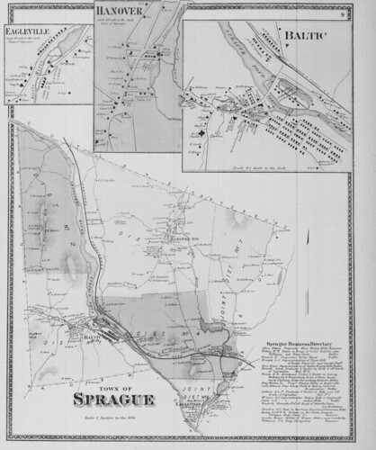 Town of Sprague.  (Petersen Collection) | by uconnlibrariesmagic