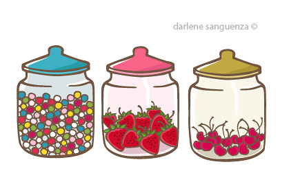 jar of sweets click here to download the vector file. Black Bedroom Furniture Sets. Home Design Ideas