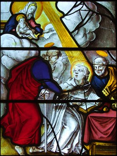 The Blessed Virgin, St Paul and St Peter inspire St Dominic | by Simon_K