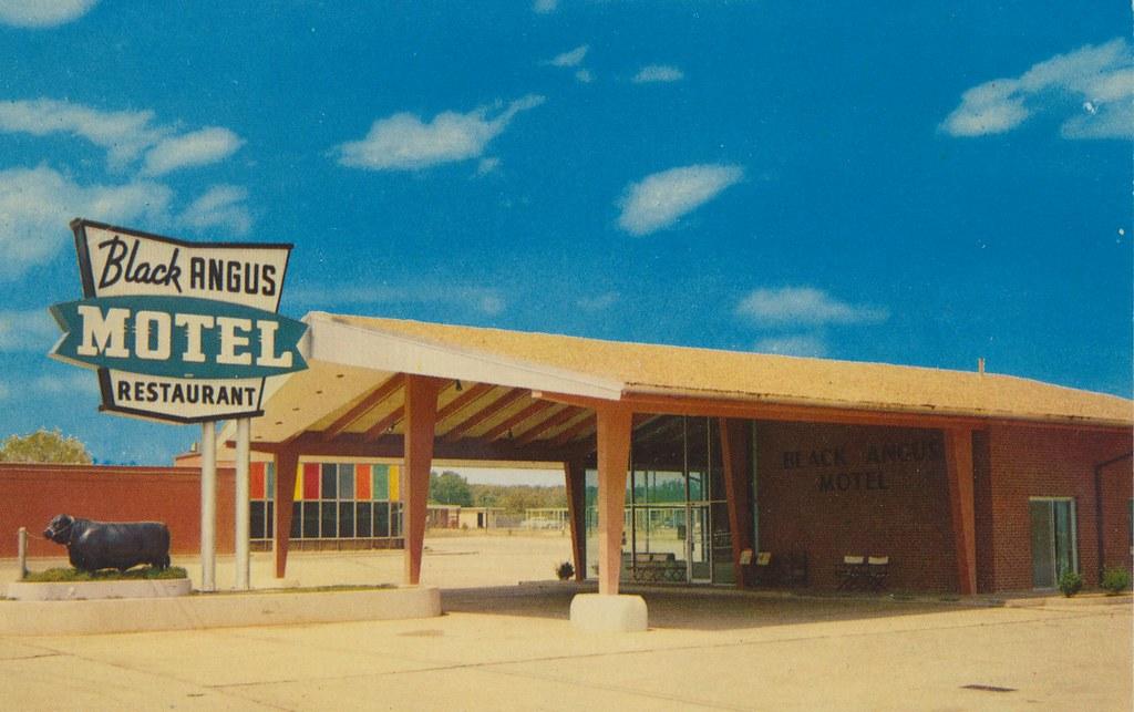 Black Angus Motel and Restaurant - Poteau, Oklahoma