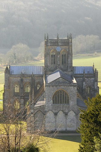 Milton Abbey Church from St Catherine's Chapel | by Marcus Reeves