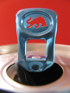 sugar free red bull pull tab where do all the bull cutouts flickr. Black Bedroom Furniture Sets. Home Design Ideas