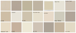 Neutral paint colors: Greige: Designers' favorites | by SarahKaron