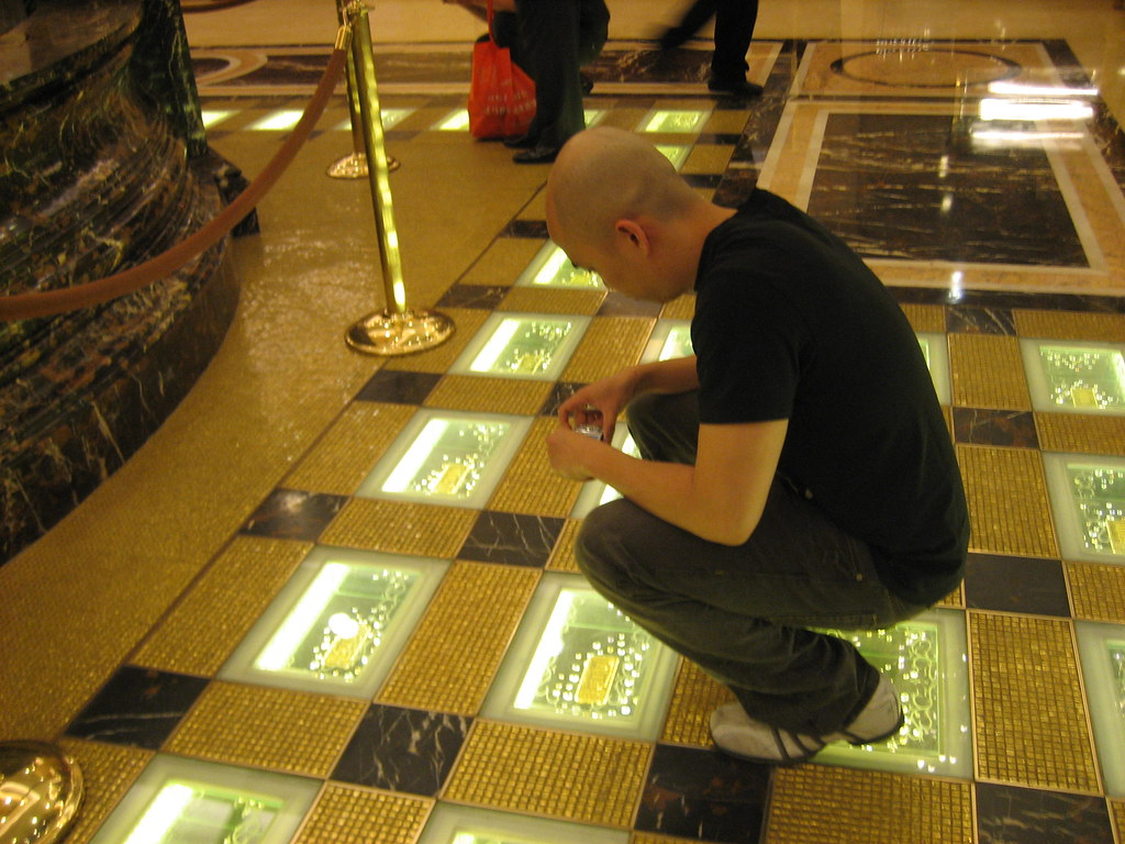 Real Gold Bar Floor Macau