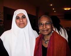 MP Huda Naim with Alice Walker | by kim kim