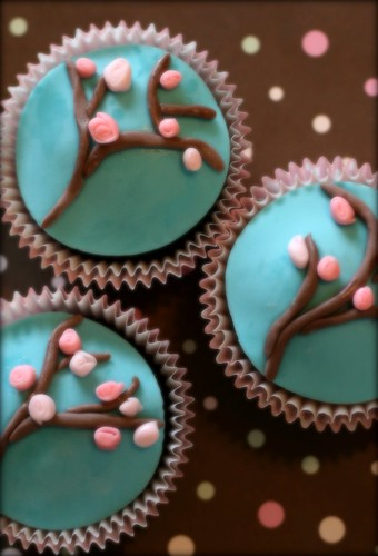 Cherry Blossom Cupcakes | by windy_sydney