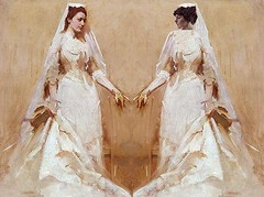 The Wedding Couple, after Abbot Handerson Thayer and Richard E. Miller | by Mike Licht, NotionsCapital.com