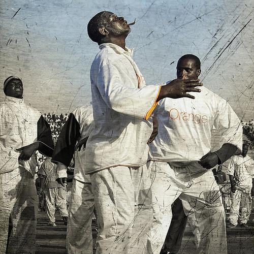 La Lutte, Senegalese wrestling   Martin Waalboer