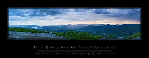 Storm Rolling Over The Central Adirondacks | by Mountain Visions