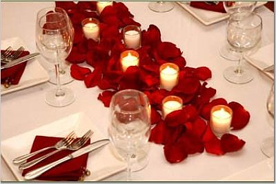 Red Table Setting | weddingsbyb | Flickr