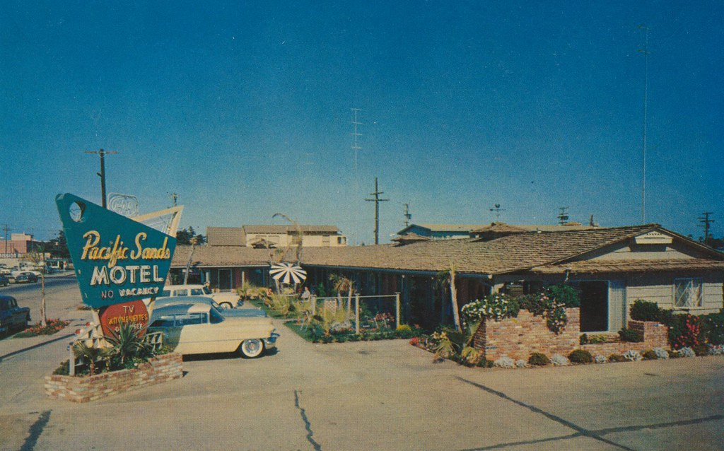 Pacific Sands Motel - San Diego, California