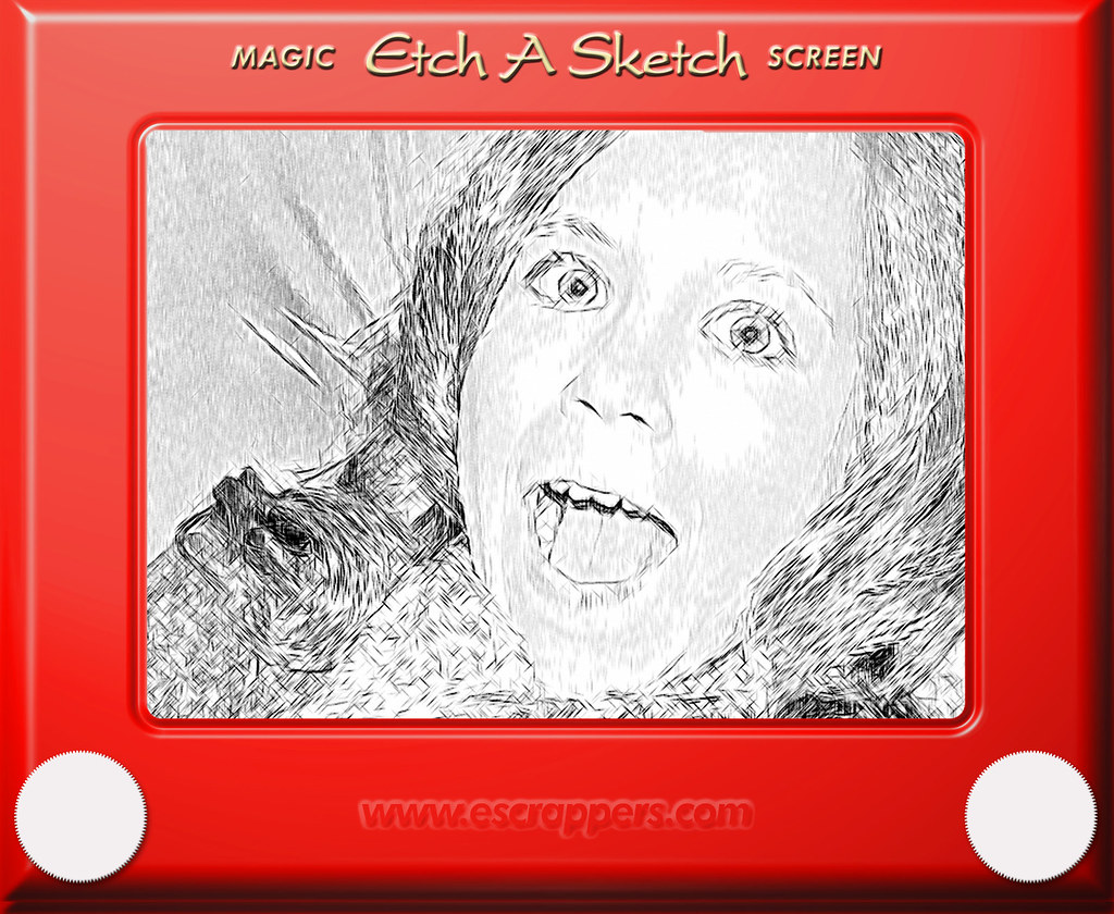 Etch A Sketch | An oldie but goodie. The frame comes from: w… | Flickr