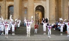 Levitating morris dancers