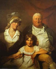 Wilkie, David (1785-1841) - 1804 William Chalmers-Bethune, his wife Isabella Morison and their Daughter Isabella (National Gallery of Scotland, Edinburgh, UK.) | by RasMarley