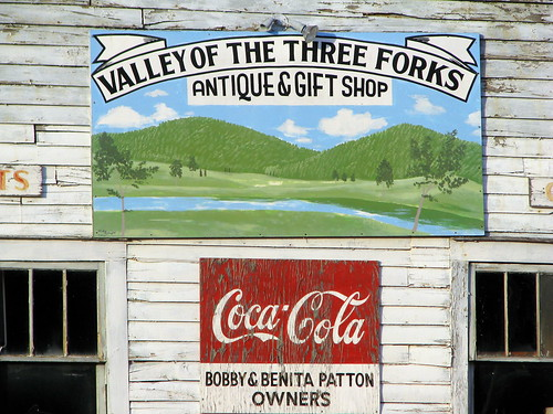 Valley of the Three Forks antiques
