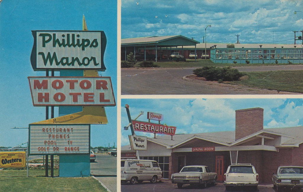 Phillips Manor Motel & Raney's Restaurant - Dumas, Texas