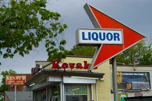 LIQUOR at Kenny's and Kovak's... | by ellievanhoutte
