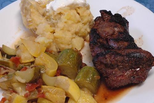 spinalis steak dinner steak cooked on the bge good