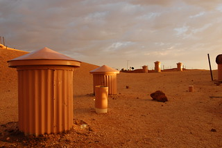 Coober Pedy chimneys | by whale05