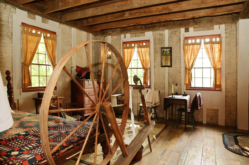 Interior Of Smith Frame Home Lds Historic Site By Ironrodart Royce Bair