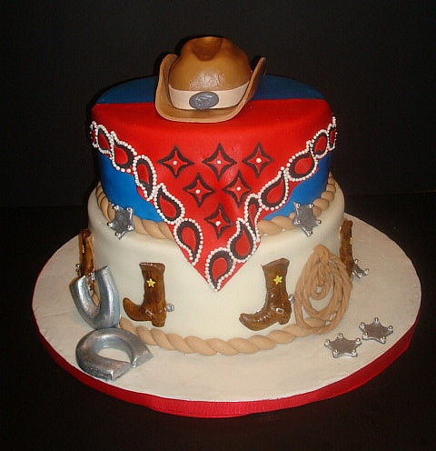 Western Birthday Cakes For Adults