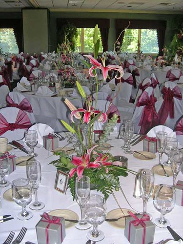 Asian Style Lily Floral Centerpiece Wedding Reception Fl Flickr