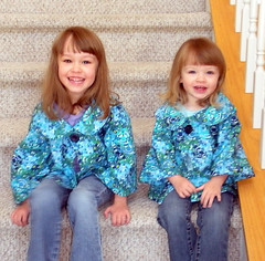 My Girls in Afternoon Tea Jackets | by Sew Spoiled