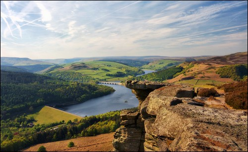 Looking over Ladybower, Bamford Edge | by Andy Watson1