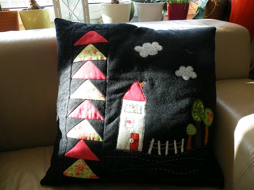 House pillow - front (on a sunny day) | by monaw2008