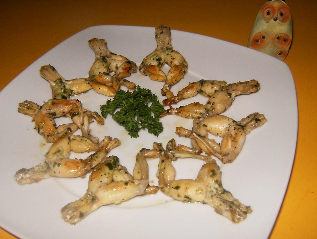 Ancas de rana-fritas plancha otra | Mi lechuza cocina | Flickr