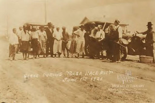 Scene during Tulsa Race Riot | by McFarlin Special Collections