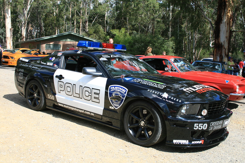 Ford Mustang Police Car from Transformers  Easter weekend 2  Flickr