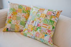 Cushions from Vintage Sheets | by Annie_Shea