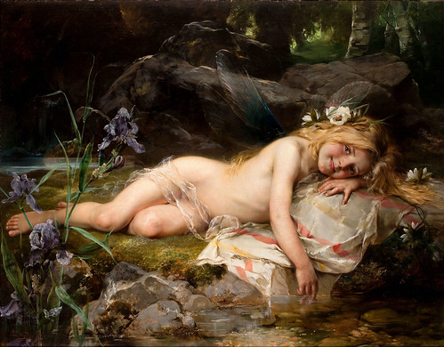 "PAUL WAGNER (German, 1852-1952), ""Forest Nymph"" 