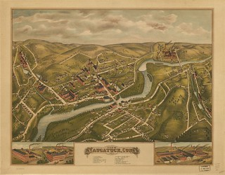 View of Naugatuck, Conn. 1877 | by uconnlibrarymagic