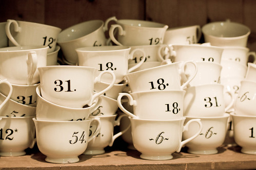 number the tea cups | by embem30