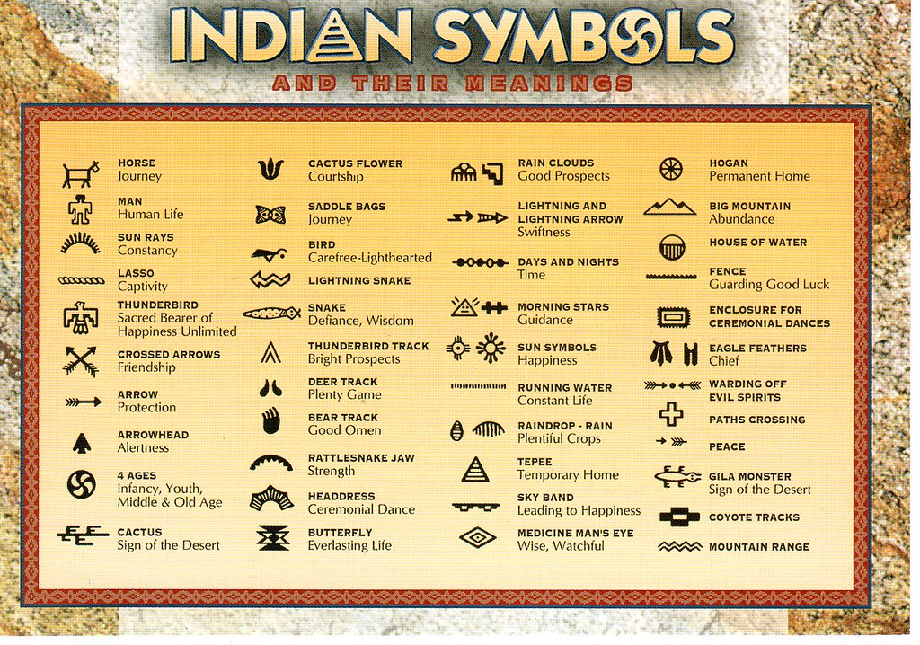 Az Native American Symbols Nhigh Flickr