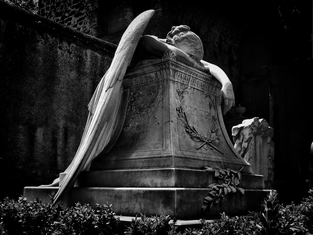 Angel of Grief cimitero acattolicoroma non catholic cemet Flickr