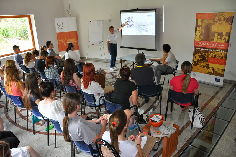 Cultural Heritage without Borders' Regional Restoration Camps, Tirana, ALBANIA