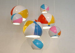 Beach Ball Lamps Toby Sanders-tobyhouse.org.uk | by Inhabitat