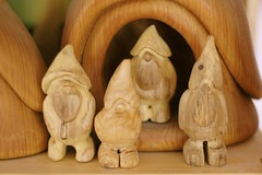 wooden gnomes | by waldorf mama