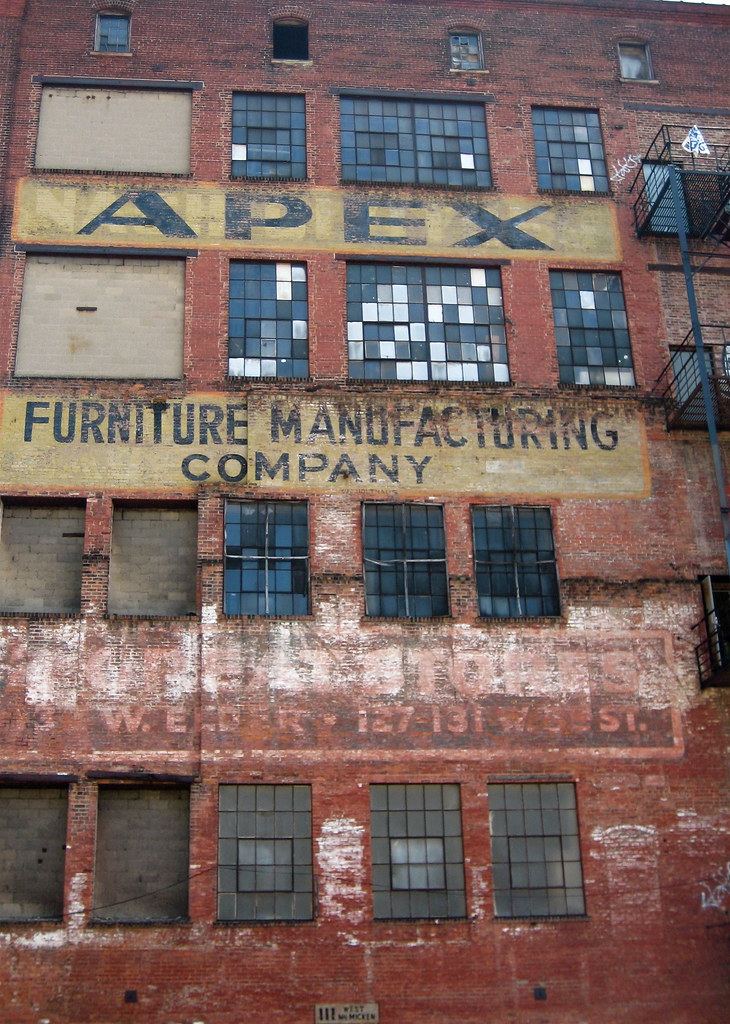 ... Apex Furniture Manufacturing Co., Cincinnati, OH | By Robby Virus
