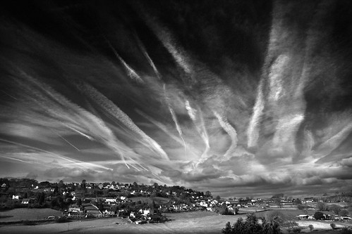 Harrow Hill View BW | by ffotograffer