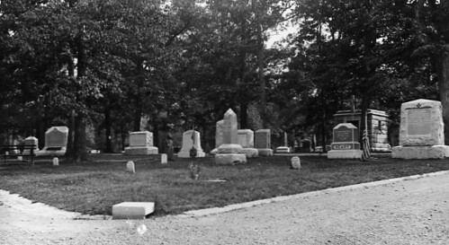 View of graves at Arlington National Cemetery | by DC Public Library Commons