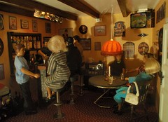 Nora and Helmer in the pub with friends | by pubdoll