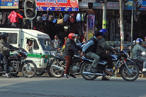 Street traffic in Kathmandu | by World Bank Photo Collection