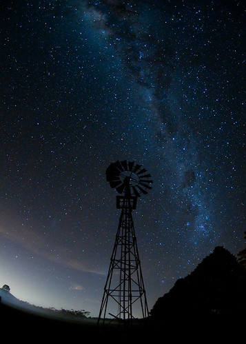windmill under the milkyway (EXPLORED 28.5.2010)_GSC1113-Edit-2-4 | by Rob Featonby