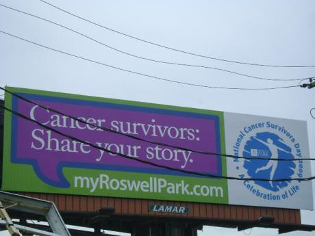 Roswell Survivors Day Billboard 2009 | by Roswell Park